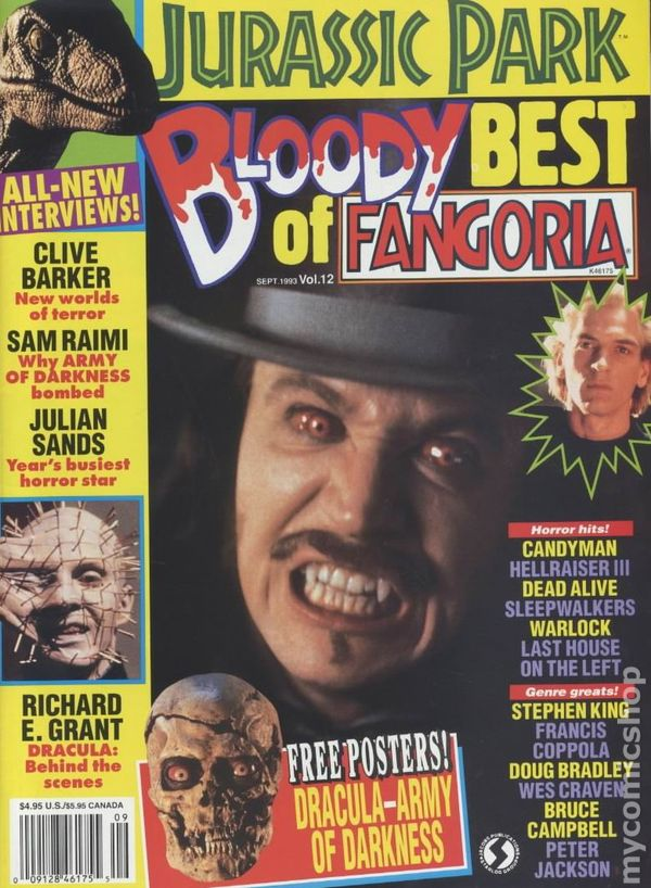 Best of Fangoria 1982 comic books