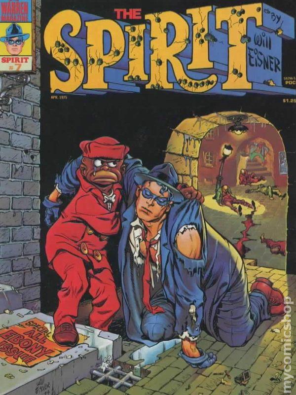 Spirit 1974 Warren MagazineKitchen Sink comic books