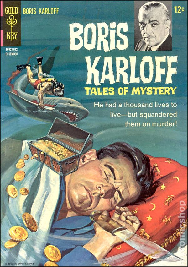 Boris Karloff Tales of Mystery 1963 Gold Key comic books