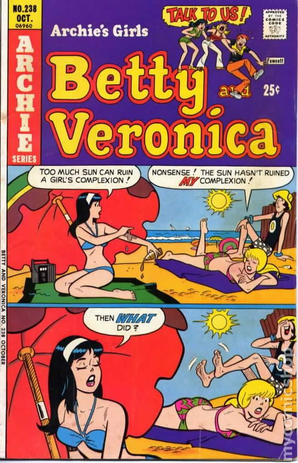 Archies Girls Betty and Veronica 1951 comic books