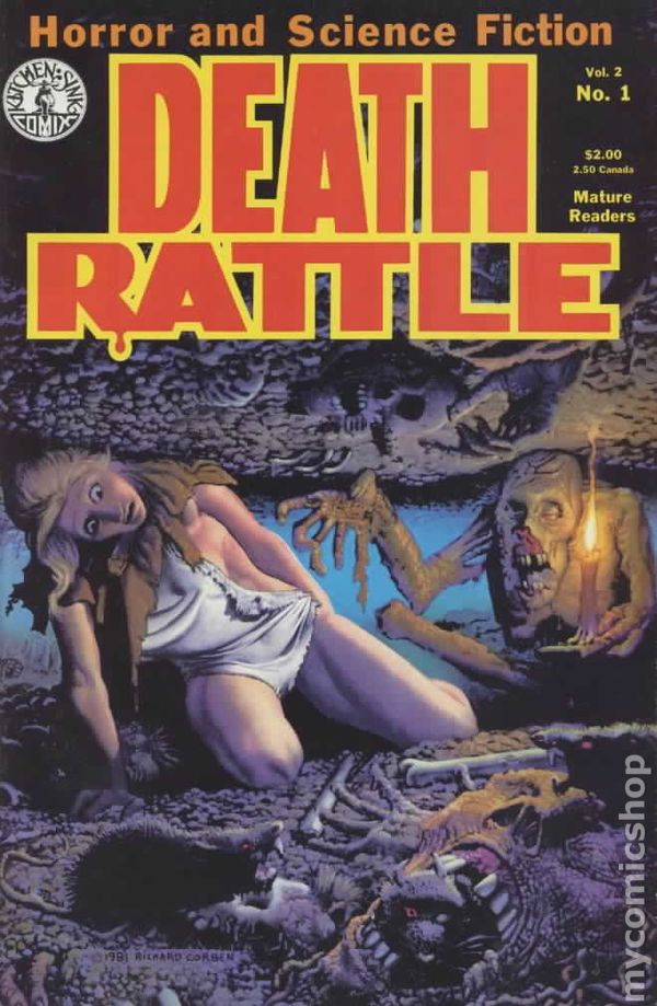 Death Rattle 1985 2nd Series comic books