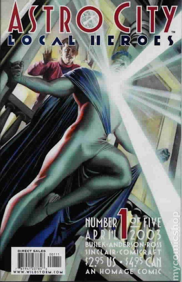 Astro City Local Heroes 2003 comic books