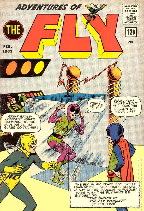 Adventures of the Fly Fly Man 1959 comic books