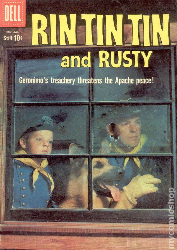 Rin Tin Tin 1953 comic books