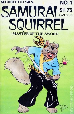 Image result for samurai squirrel
