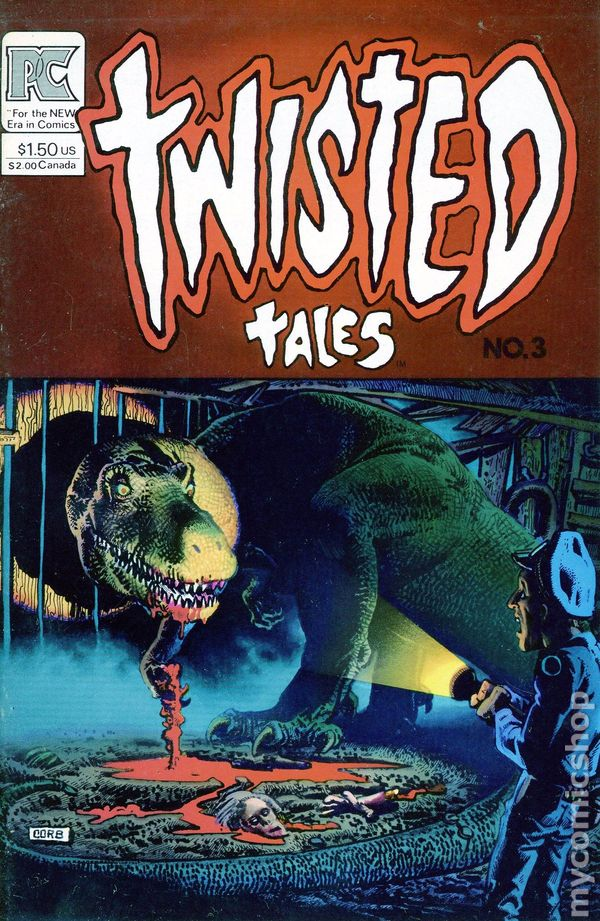 Twisted Tales 1982 Pacific comic books