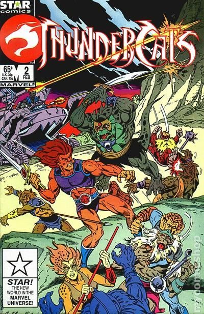 Thundercats 1985 1st Series Marvel comic books