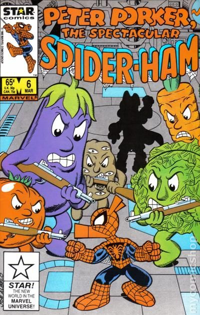 Peter Porker the Spectacular SpiderHam 1985 MarvelStar