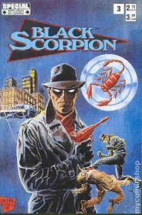 Black Scorpion (1991) comic books