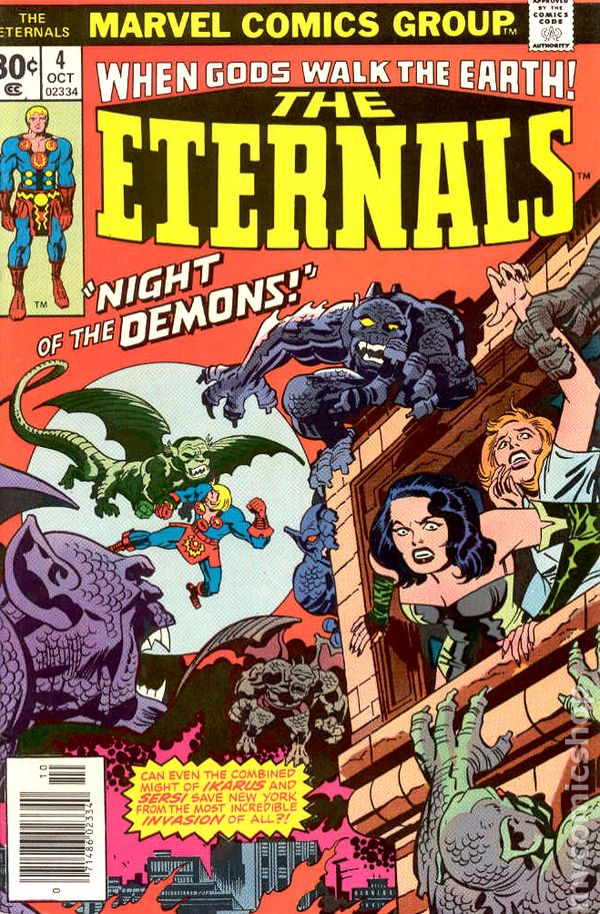 Eternals 1976 1st Series comic books