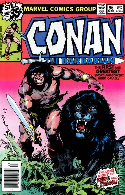 Conan the Barbarian 1970 Marvel comic books