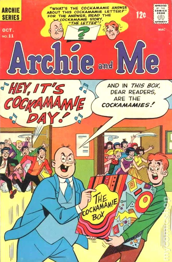 Archie and Me 1964 comic books