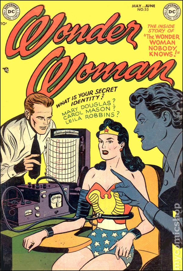 Wonder Woman 1942 1st Series DC comic books 19501959