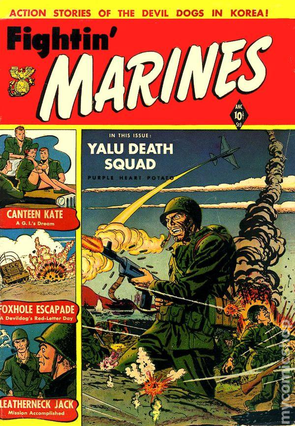 Fightin Marines 1951 St JohnCharlton comic books