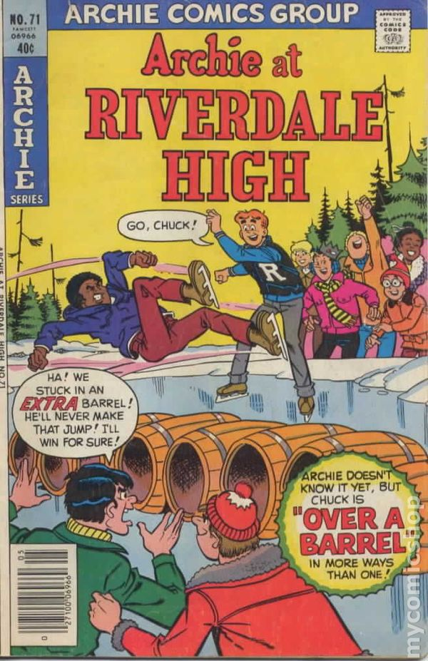 Archie at Riverdale High 1972 comic books