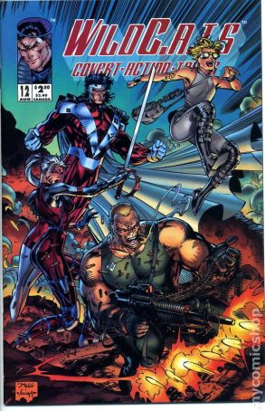 Image result for Wildcats 12 comic