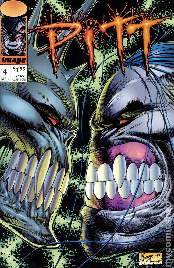 Pitt 1993 ImageFull Bleed comic books
