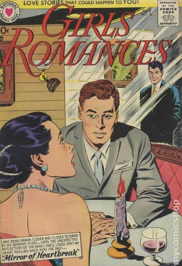Girls Romances 1950 comic books