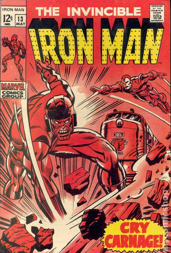 Iron Man 1968 1st Series comic books