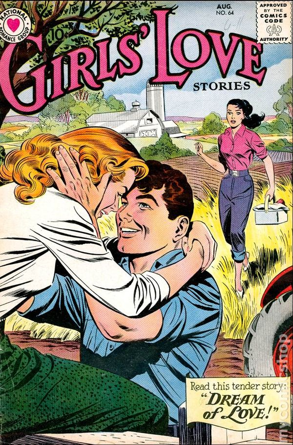 Girls Love Stories 1949 comic books