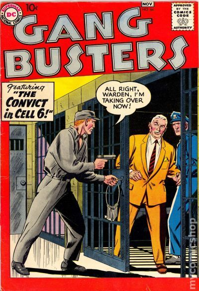 Cameron Ely Gang Busters (1948) comic books