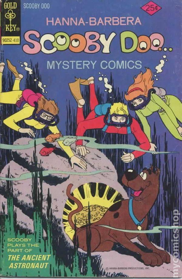 Scooby Doo 1970 Gold Key Comic Books