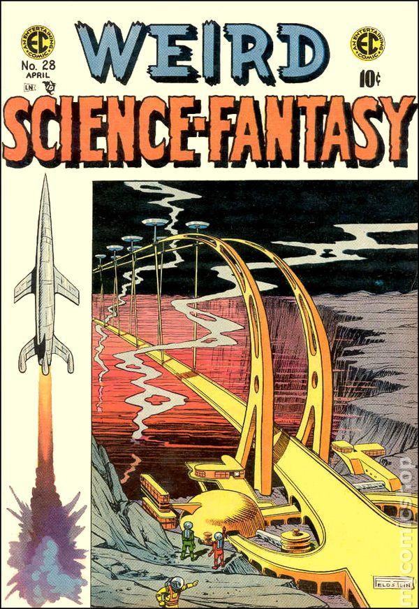 Weird ScienceFantasy 1954 EC Comics comic books