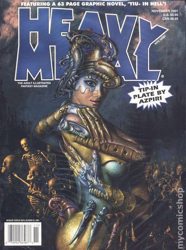 Heavy Metal September 2008 Comic