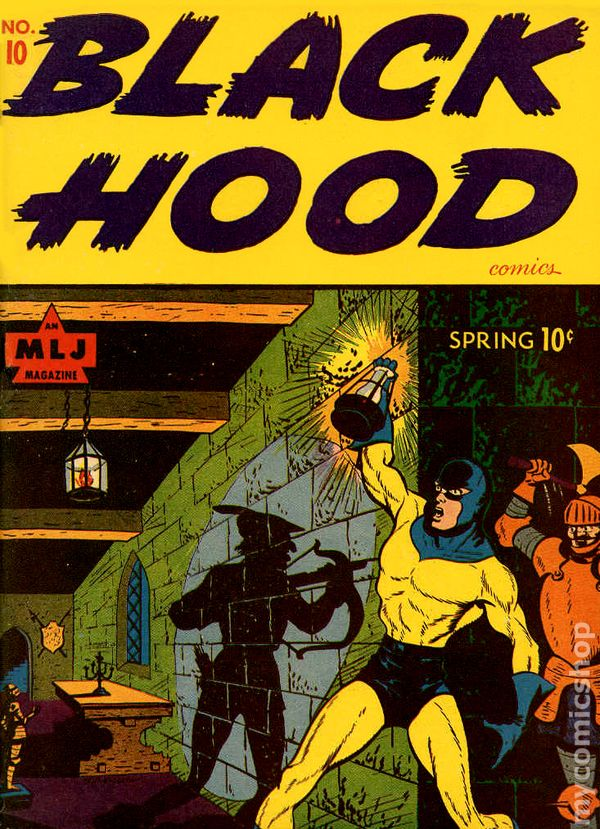 Black Hood Comics 1943 comic books