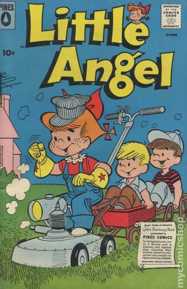 Little Angel 1954 comic books