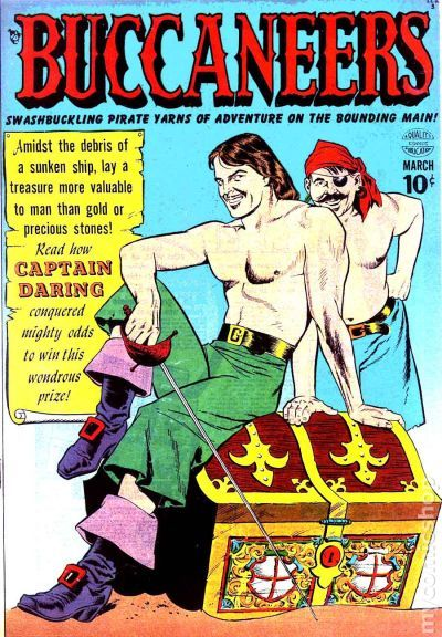 Buccaneers 1950 comic books