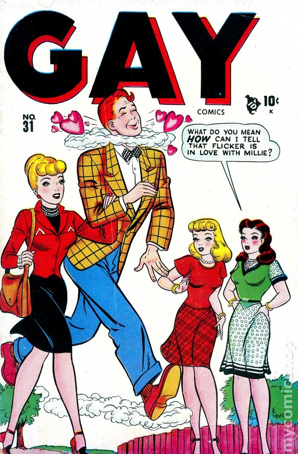 Gay Comics 1944 Timely comic books