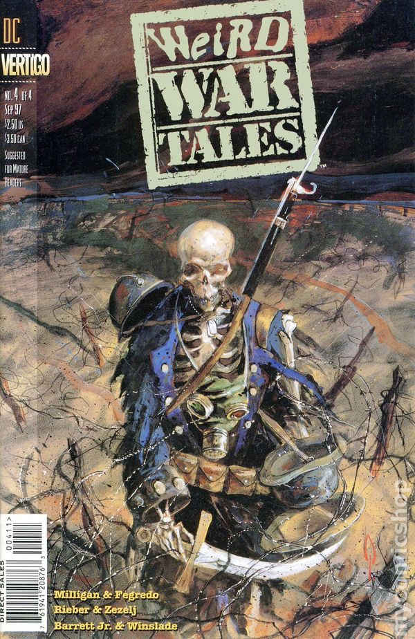 Weird War Tales 1997 Vertigo comic books