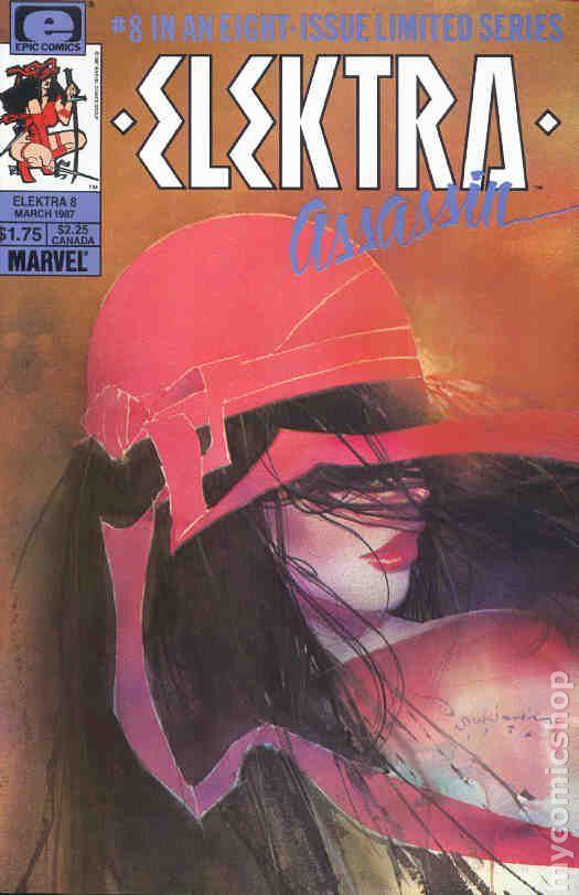 Elektra Assassin 1986 comic books