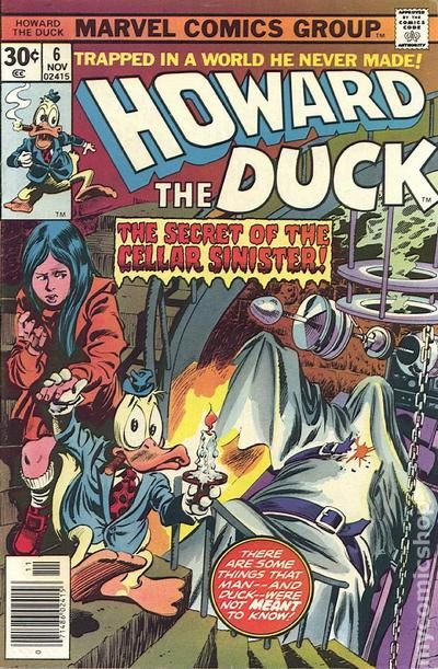 Howard the Duck 1976 1st Series comic books