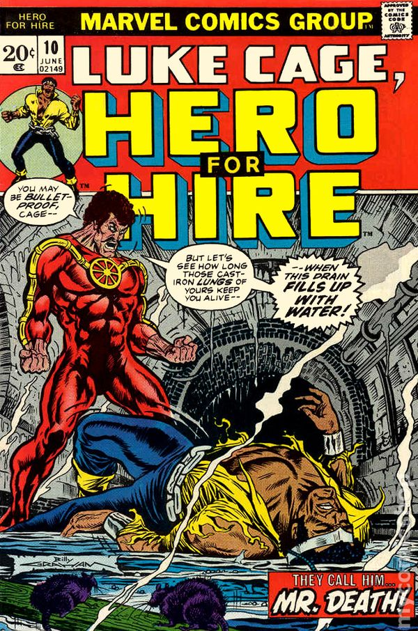 Power Man and Iron Fist 1972 Hero for Hire comic books