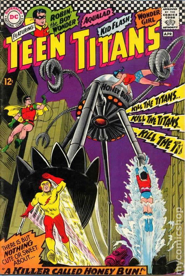 Teen Titans 1966 1st Series comic books 19601969