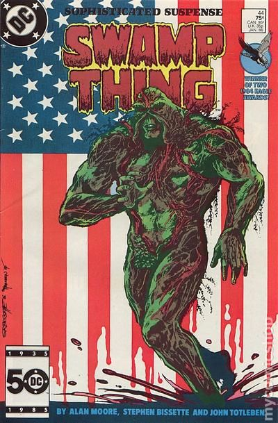 Swamp Thing 1982 2nd Series Comic Books 1986 1990