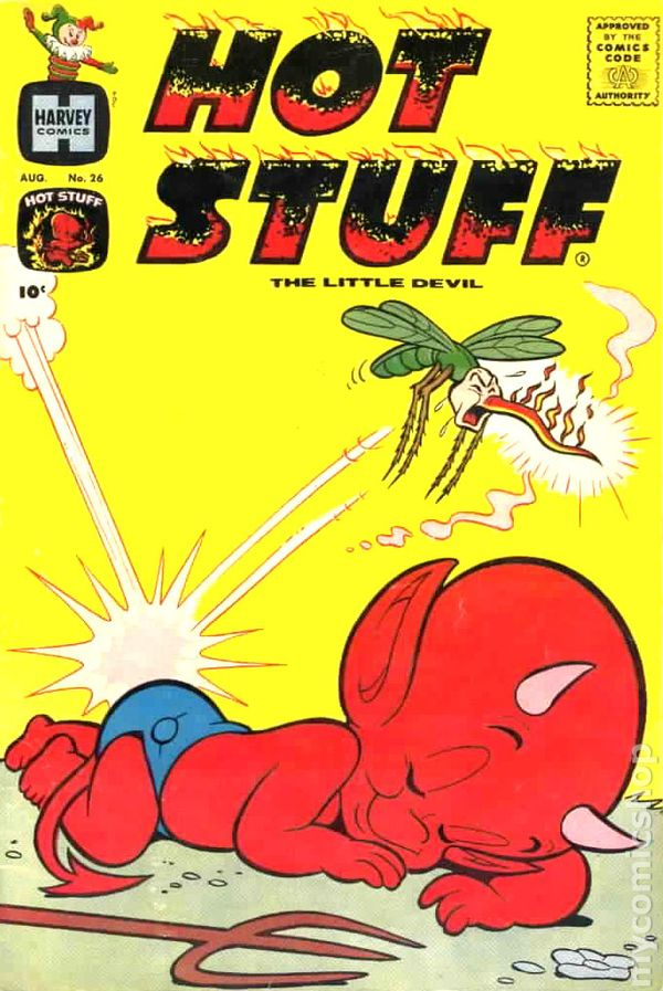Hot Stuff 1957 Harvey comic books