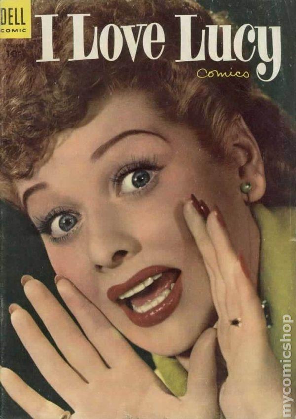 I Love Lucy 1954 Dell comic books