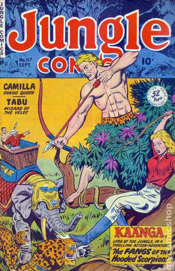Jungle Comics 1940 Fiction House comic books