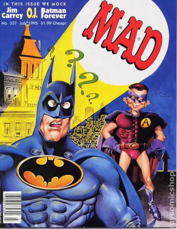 Mad 1955 Magazine 24 On comic books