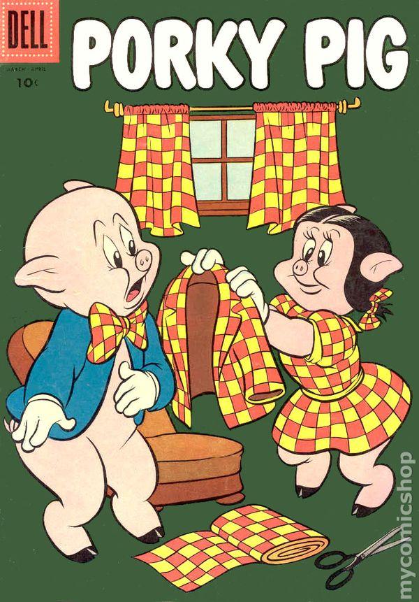 Porky Pig 1952 Dell Comic Books