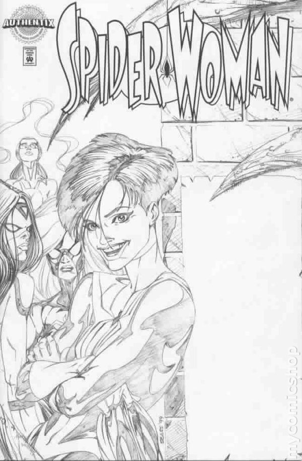 Spider-Woman (1999) Marvel Authentix Edition comic books