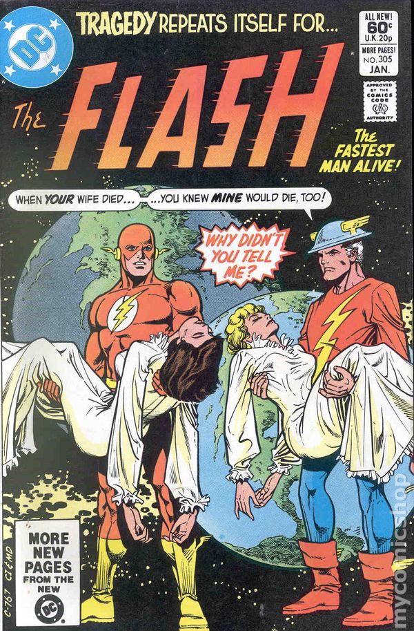 Flash 1959 1st Series DC comic books
