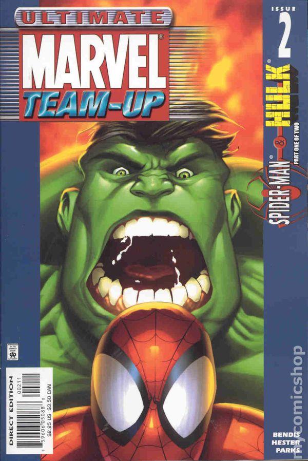 Ultimate Marvel TeamUp 2001 comic books