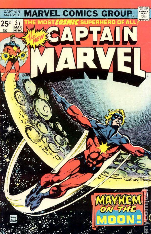 Captain Marvel 1968 1st Series Marvel comic books