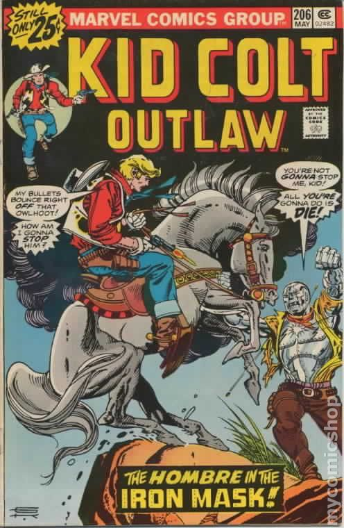 Kid Colt Outlaw 1948 comic books