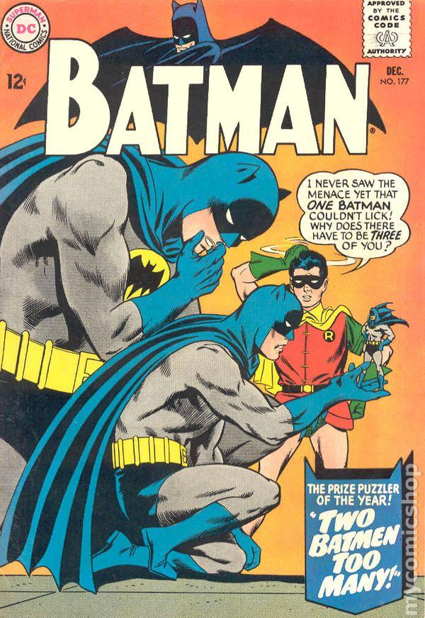 Batman 1940 comic books 19601969