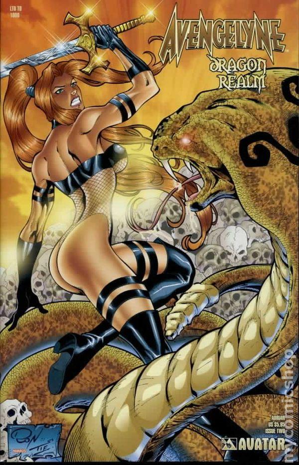 Avengelyne Dragon Realm 2001 Comic Books